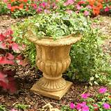 Round Resin Traditional Topiary Urn Planter - Walmart.com