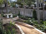 xeriscaped pathway by bill rose of blissful gardens in austin texas