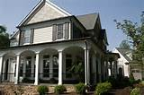 wrap around porch j hall homes inc pinterest