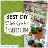 BEST DIY Herb Garden Ideas | Garden | Pinterest