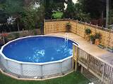 ... : Simple Landscaping Around Above Ground Pool Ideas | Landscape