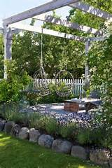 Patio design ideas with hanging chairs for the garden | 1 Decor