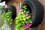 pots! #AutoParts #Recycle #Flowers: Garden Ideas, Old Tires, Outdoor ...