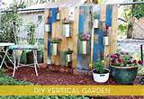 Vertical garden for small spaces