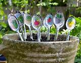Homemade Garden Plant Markers for Mother's Day