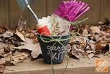 chalkboard painted pot is the perfect gift for the gardener in your