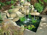 water feature bamboo fountain garden ideas pinterest