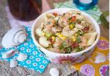 ... Beach Bash + An Amazing Shrimp & Veggie Salad w/ Lemon-Herb Dressing