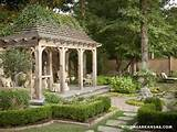 ideas and garden design blending classic english and french styles