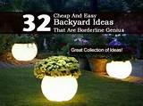 32 cheap and easy backyard ideas http://plantcaretoday.com/32-cheap ...