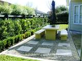 outdoor courtyard with wall garden felmiatika com