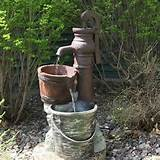 Homemade Water Fountains Outdoor