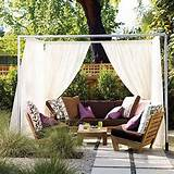 20 DIY Outdoor Curtains, Sunshades and Canopy Designs for Summer ...