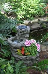 chic small water fountain design ideas for garden 2067 - anoninterior