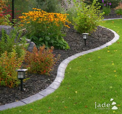 Designing Gardens Ideas: Garden Edging Ideas