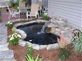 water running a few flowers planted and mulched time to relax