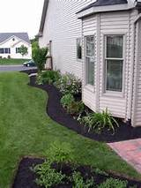 black mulch | Landscaping Ideas | Pinterest