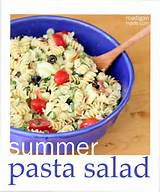 look like summer but a garden fresh pasta salad tastes like summer