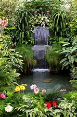 63 Relaxing Garden And Backyard Waterfalls | DigsDigs