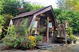 rustic garden shed tiny house ideas pinterest