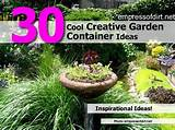 30 cool creative garden container ideas