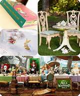 whimsical alice in wonderland wedding ideas