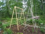 niki jabbour the year round veggie gardener a frame trellises