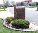 mailboxes landscape edging