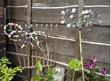 home made garden ornaments backyard ideas pinterest