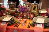 Mexican-Inspired Tabletop Decor: At a Chicago launch party for wedding ...