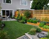 small garden design ideas in narrow space: Modern Home Garden Ideas ...