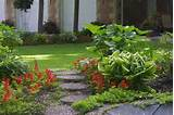 yard garden landscaping for large beds partial shade garden