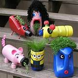 Cute upcycled planters for kids. These container gardening ideas offer ...