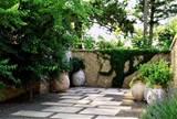 mediterranean garden terra cotta urns lutsko associates landscape
