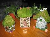 Homemade fairy houses... | Fairy gardens & gnome homes | Pinterest