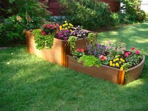 Plant Raised Flower Beds : Plant Raised Bed Gardening