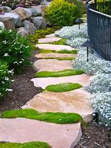 garden creative inexpensive garden path ideas this flagstone path
