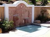 outdoor garden wall fountains design ideas models home design