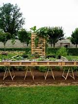 raised garden beds made from used pallets - Dump A Day