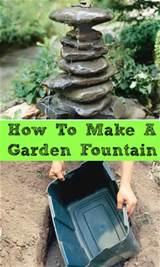 how to make a garden fountain diy saturday a cultivated nest