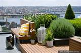 above the inner city rooftop garden from secret gardens stylish eve