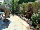 tuscan patio with water feature for the garden pinterest