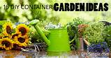 start your own garden try one of these 16 diy container garden ideas