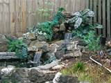 garden waterfall design 2 e1281723615445 waterfall enhances the beauty