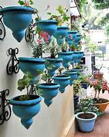 ... Hanging Planter Designs for Decorating Small Outdoor Seating Areas