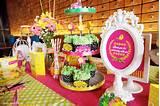 Colorful Garden themed birthday party via Kara's Party Ideas ...
