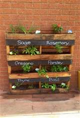 Herb Planter Box | Garden Ideas | Pinterest
