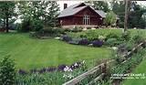Vintage England Garden – Front Yard Landscaping Design Ideas