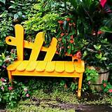 How to build a garden bench by yourself – 23 ideas for the garden