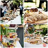 simple stylish modern wedding ideas tea under the trees south